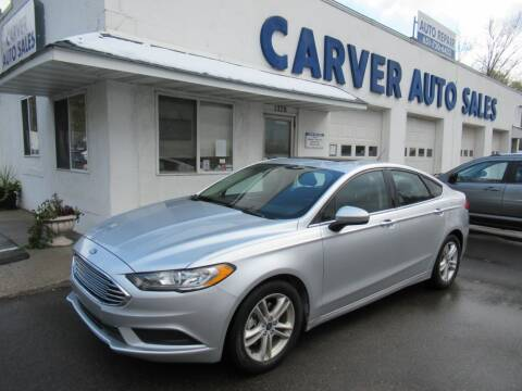 2018 Ford Fusion for sale at Carver Auto Sales in Saint Paul MN