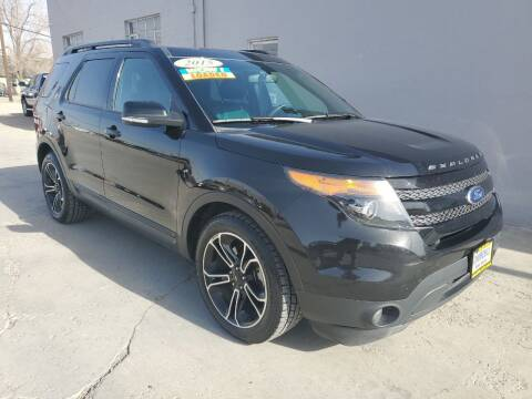 2015 Ford Explorer for sale at CHURCHILL AUTO SALES in Fallon NV