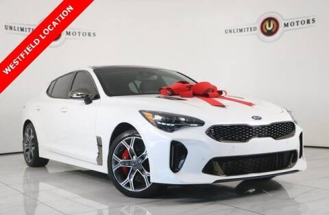 2018 Kia Stinger for sale at INDY'S UNLIMITED MOTORS - UNLIMITED MOTORS in Westfield IN