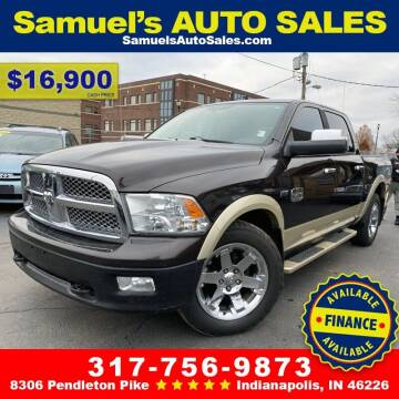 2011 RAM Ram Pickup 1500 for sale at Samuel's Auto Sales in Indianapolis IN