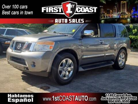 2013 Nissan Armada for sale at 1st Coast Auto -Cassat Avenue in Jacksonville FL