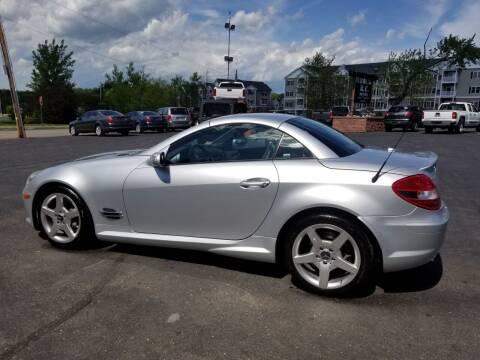 2005 Mercedes-Benz SLK for sale at R C Motors in Lunenburg MA