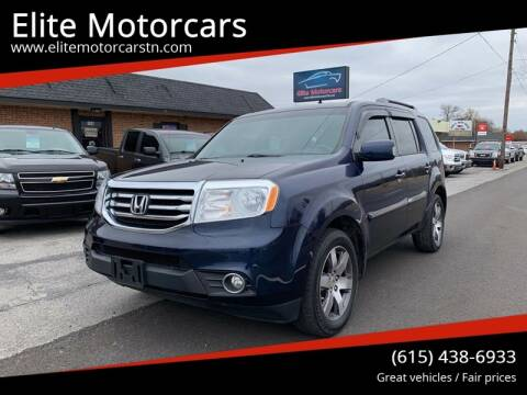 2013 Honda Pilot for sale at Elite Motorcars in Smyrna TN