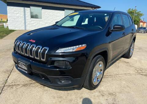 2014 Jeep Cherokee for sale at Auto House of Bloomington in Bloomington IL