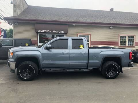 2015 GMC Sierra 1500 for sale at Shattuck Motors in Newport VT