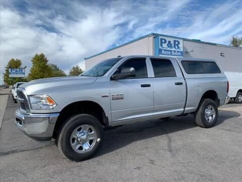 2017 RAM Ram Pickup 2500 for sale at P & R Auto Sales in Pocatello ID