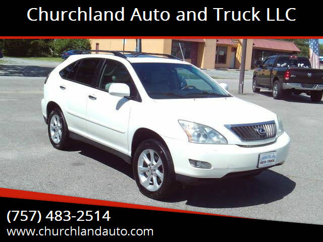 2009 Lexus RX 350 for sale at Churchland Auto and Truck LLC in Portsmouth VA