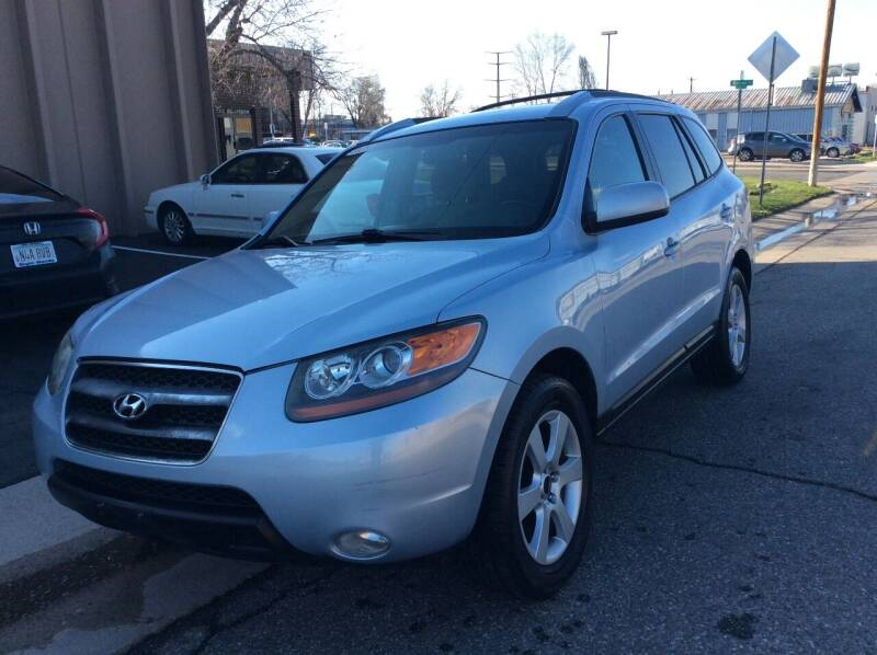 2007 Hyundai Santa Fe for sale at AROUND THE WORLD AUTO SALES in Denver CO