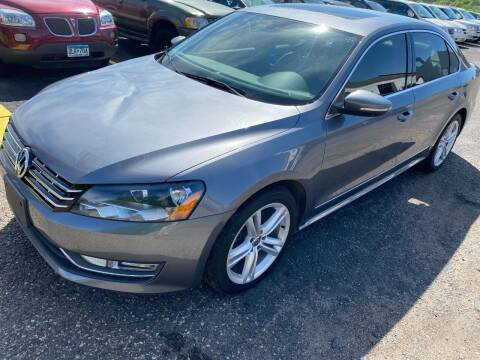 2012 Volkswagen Passat for sale at Auto Tech Car Sales in Saint Paul MN