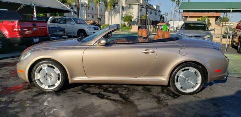 2003 Lexus SC 430 for sale at Pauls Auto in Whittier CA