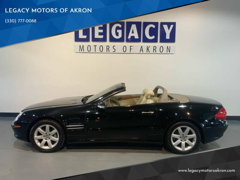 2003 Mercedes-Benz SL-Class for sale at LEGACY MOTORS OF AKRON in Akron OH