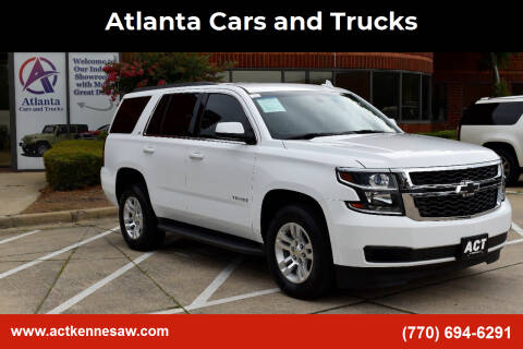 2016 Chevrolet Tahoe for sale at Atlanta Cars and Trucks in Kennesaw GA