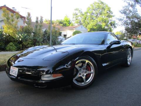 2004 Chevrolet Corvette for sale at Valley Coach Co Sales & Lsng in Van Nuys CA