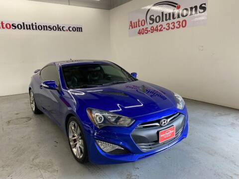 2013 Hyundai Genesis Coupe for sale at Auto Solutions in Warr Acres OK