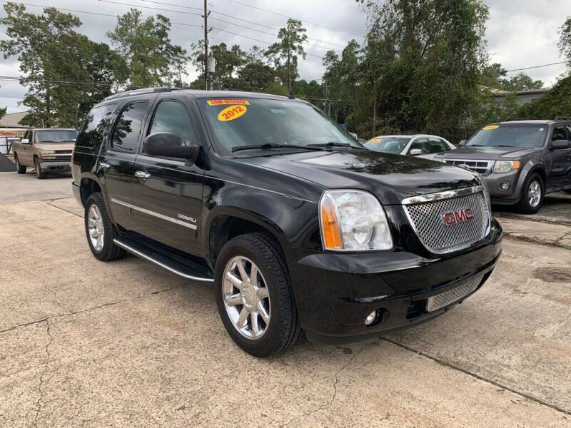2012 GMC Yukon for sale at AUTO WOODLANDS in Magnolia TX