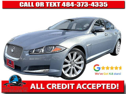 2013 Jaguar XF for sale at World Class Auto Exchange in Lansdowne PA