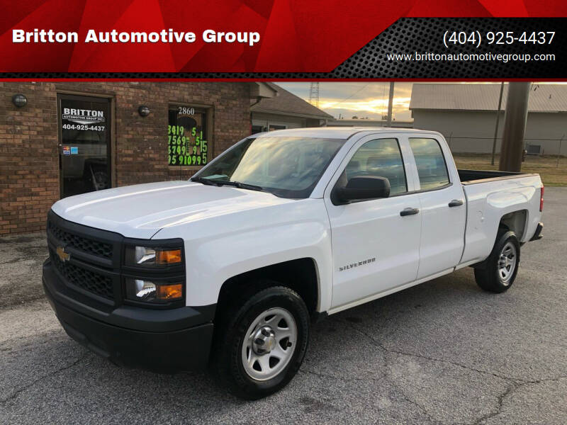 2015 Chevrolet Silverado 1500 for sale at Britton Automotive Group in Loganville GA
