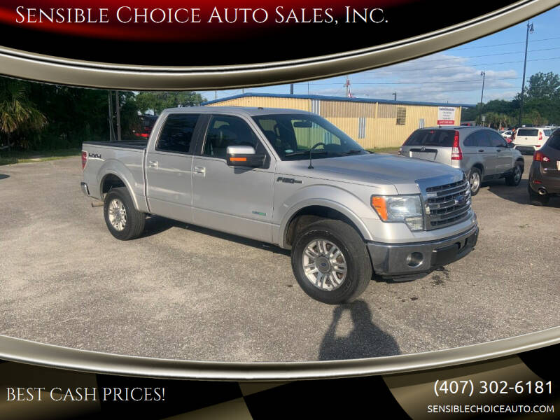 2013 Ford F-150 for sale at Sensible Choice Auto Sales, Inc. in Longwood FL