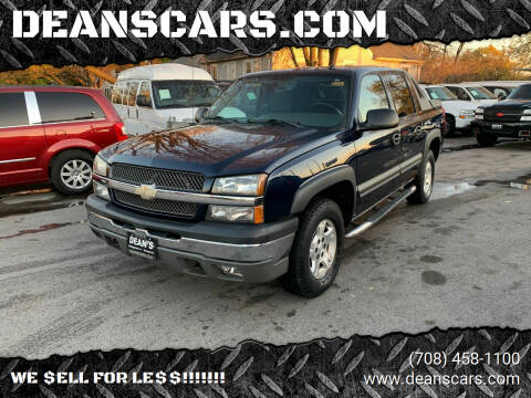 2004 Chevrolet Avalanche for sale at DEANSCARS.COM in Bridgeview IL