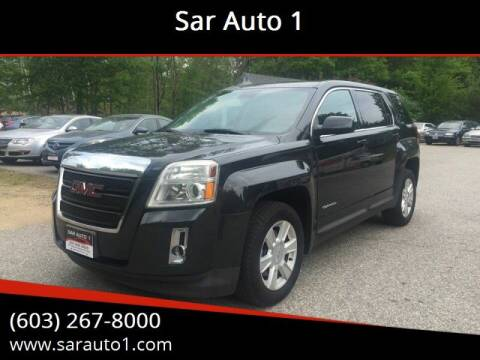 2013 GMC Terrain for sale at Sar Auto 1 in Belmont NH