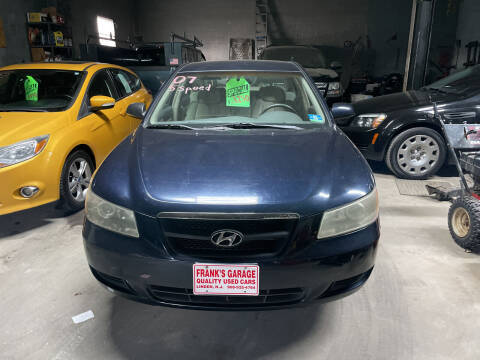 2007 Hyundai Sonata for sale at Frank's Garage in Linden NJ