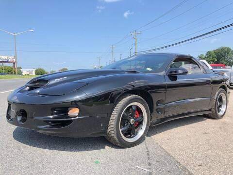 2001 Pontiac Firebird for sale at Mega Autosports in Chesapeake VA