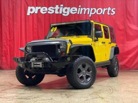 2009 Jeep Wrangler Unlimited for sale at Prestige Imports in St Charles IL