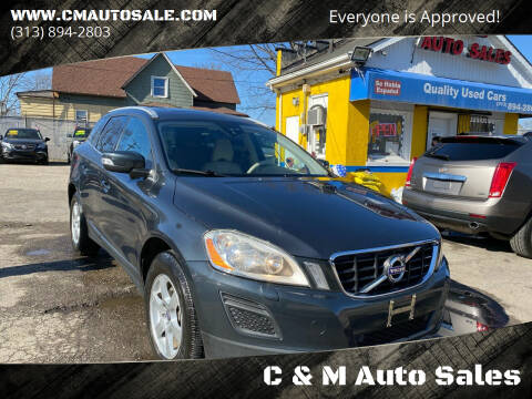 2012 Volvo XC60 for sale at C & M Auto Sales in Detroit MI