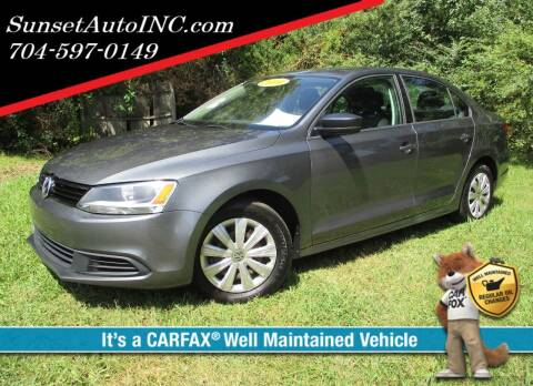 2014 Volkswagen Jetta for sale at Sunset Auto in Charlotte NC