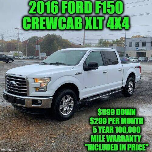 2016 Ford F-150 for sale at D&D Auto Sales, LLC in Rowley MA