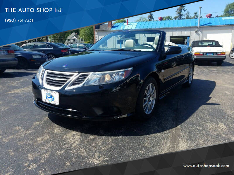 2009 Saab 9-3 for sale at THE AUTO SHOP ltd in Appleton WI