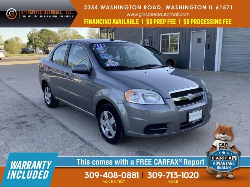 2011 Chevrolet Aveo for sale in Washington, IL