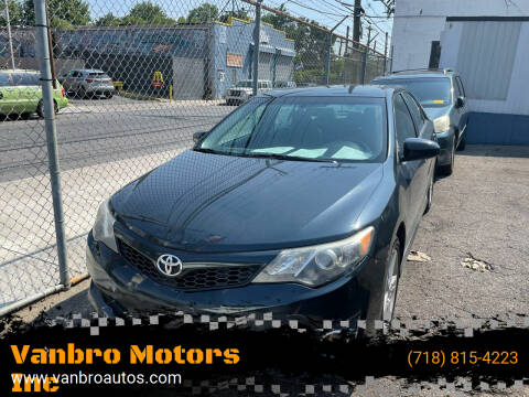 2014 Toyota Camry for sale at Vanbro Motors Inc in Staten Island NY