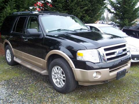 2011 Ford Expedition for sale at M & M Auto Sales LLc in Olympia WA