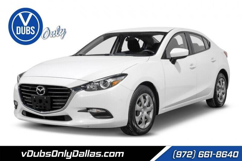 2017 Mazda MAZDA3 for sale at VDUBS ONLY in Dallas TX