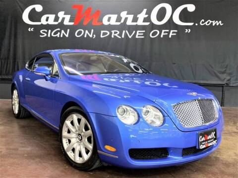 2005 Bentley Continental for sale at CarMart OC in Costa Mesa, Orange County CA