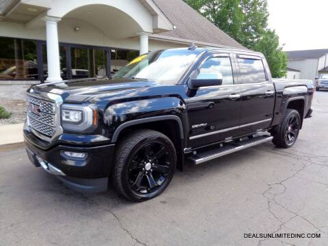 2016 GMC Sierra 1500 for sale at DEALS UNLIMITED INC in Portage MI