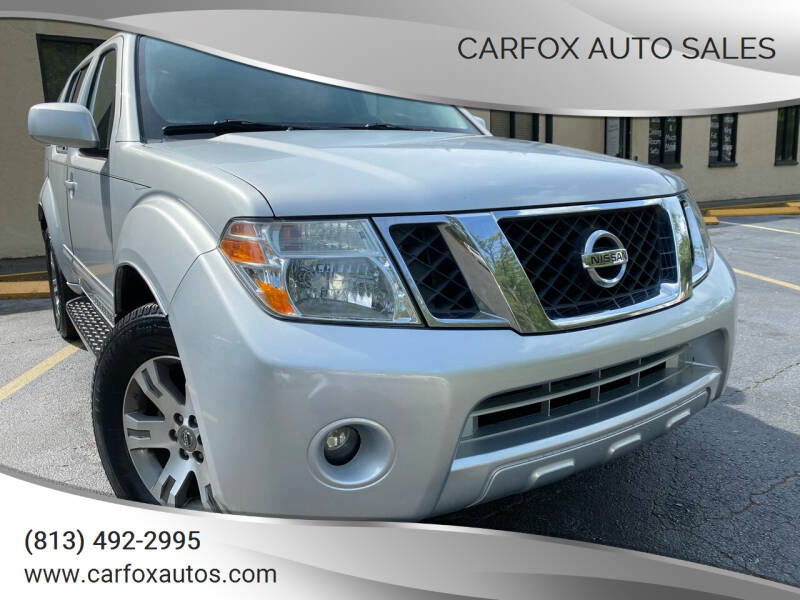 2010 Nissan Pathfinder for sale at Carfox Auto Sales in Tampa FL