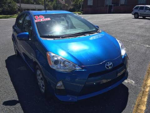 2014 Toyota Prius c for sale at DEALS ON WHEELS in Moulton AL
