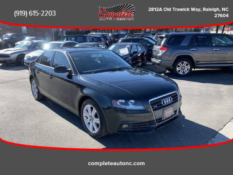 2010 Audi A4 for sale at Complete Auto Center , Inc in Raleigh NC
