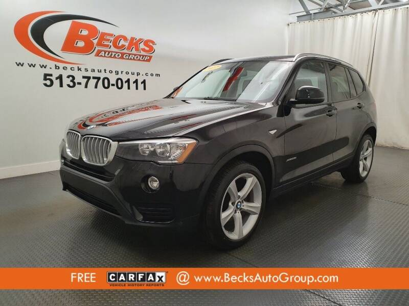 2017 BMW X3 for sale at Becks Auto Group in Mason OH
