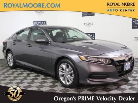 2018 Honda Accord for sale at Royal Moore Custom Finance in Hillsboro OR