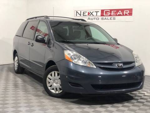 2009 Toyota Sienna for sale at Next Gear Auto Sales in Westfield IN