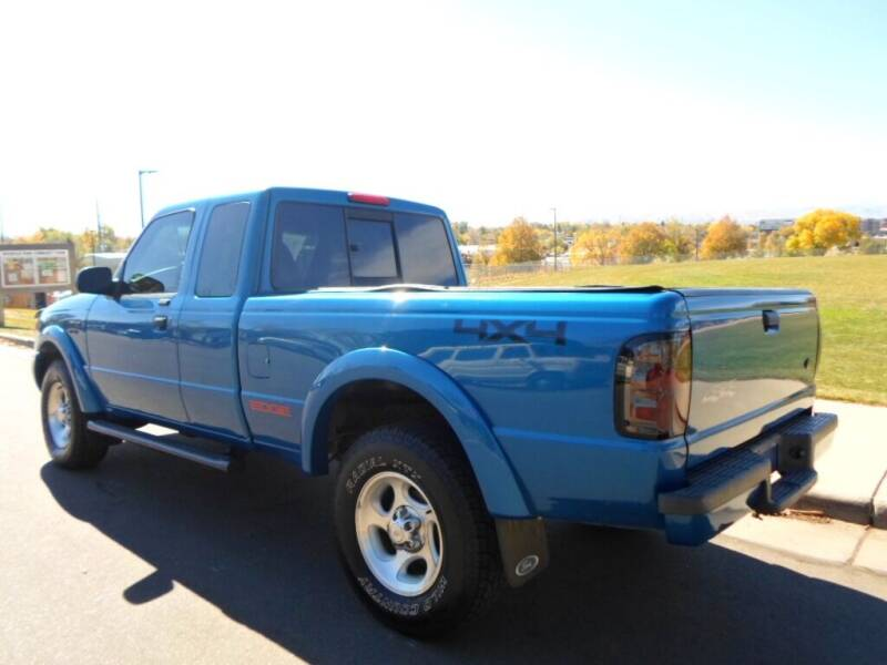 2002 Ford Ranger 4dr SuperCab Edge Plus 4WD SB - Lakewood CO