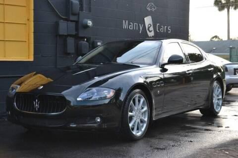 2011 Maserati Quattroporte for sale at ManyEcars.com in Mount Dora FL