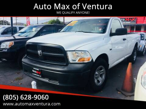 2012 RAM Ram Pickup 1500 for sale at Auto Max of Ventura in Ventura CA