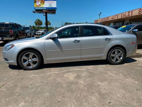 2012 Chevrolet Malibu for sale at Bobby Lafleur Auto Sales in Lake Charles LA