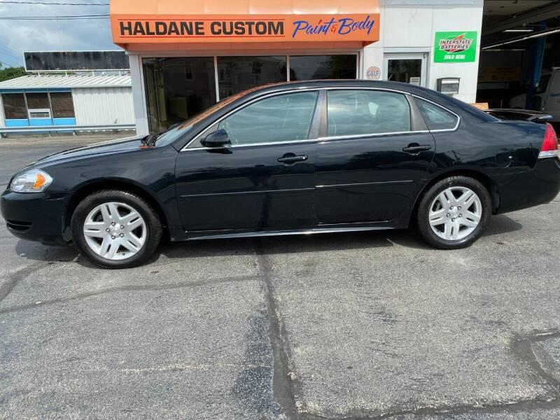 2013 Chevrolet Impala for sale at Haldane Custom in Polo IL