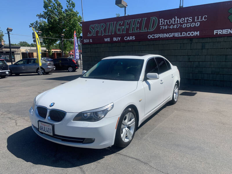 2009 BMW 5 Series for sale at SPRINGFIELD BROTHERS LLC in Fullerton CA