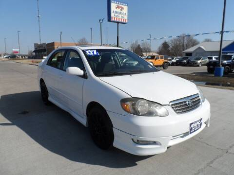 2007 Toyota Corolla for sale at America Auto Inc in South Sioux City NE